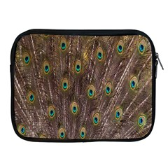 Purple Peacock Feather Wallpaper Apple Ipad 2/3/4 Zipper Cases by AnjaniArt