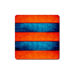 Red Blue Square Magnet