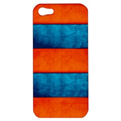 Red Blue Apple Iphone 5 Hardshell Case