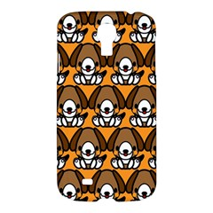 Sitbeagle Dog Orange Samsung Galaxy S4 I9500/i9505 Hardshell Case