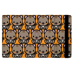 Sitcat Orange Brown Apple Ipad 3/4 Flip Case