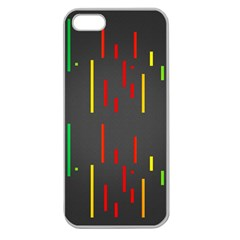 Related Pictures Funny Apple Seamless Iphone 5 Case (clear) by AnjaniArt