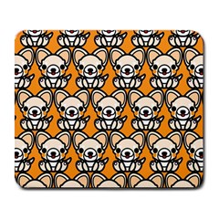 Sitchihuahua Cute Face Dog Chihuahua Large Mousepads