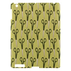 Scissor Apple Ipad 3/4 Hardshell Case by AnjaniArt