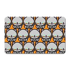 Sitpersian Cat Orange Magnet (rectangular) by AnjaniArt