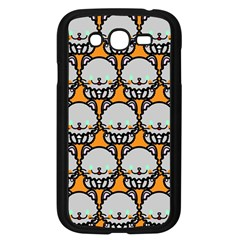 Sitpersian Cat Orange Samsung Galaxy Grand Duos I9082 Case (black) by AnjaniArt