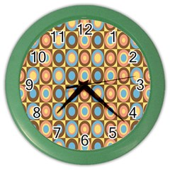 Round Color Color Wall Clocks