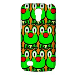 Sitfrog Orange Face Green Frog Copy Galaxy S4 Mini by AnjaniArt