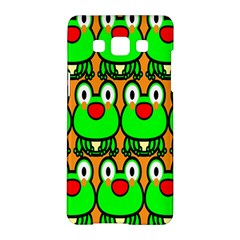 Sitfrog Orange Face Green Frog Copy Samsung Galaxy A5 Hardshell Case