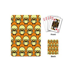 Small Duck Yellow Playing Cards (mini)