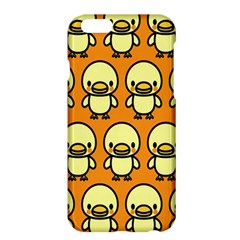 Small Duck Yellow Apple Iphone 6 Plus/6s Plus Hardshell Case by AnjaniArt
