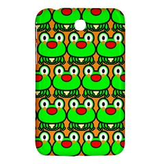 Sitfrog Orange Green Frog Samsung Galaxy Tab 3 (7 ) P3200 Hardshell Case