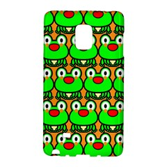 Sitfrog Orange Green Frog Galaxy Note Edge by AnjaniArt