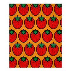 Strawberry Orange Shower Curtain 60  X 72  (medium)  by AnjaniArt