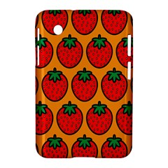 Strawberry Orange Samsung Galaxy Tab 2 (7 ) P3100 Hardshell Case  by AnjaniArt