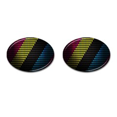 Techno Music Cufflinks (oval)