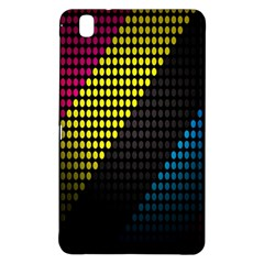 Techno Music Samsung Galaxy Tab Pro 8 4 Hardshell Case by AnjaniArt