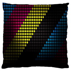 Techno Music Standard Flano Cushion Case (one Side)