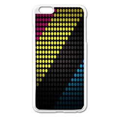 Techno Music Apple Iphone 6 Plus/6s Plus Enamel White Case by AnjaniArt