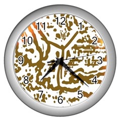 The Dance Wall Clocks (silver)  by AnjaniArt