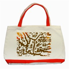 The Dance Classic Tote Bag (red)