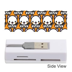 Sitwhite Cat Orange Memory Card Reader (stick)
