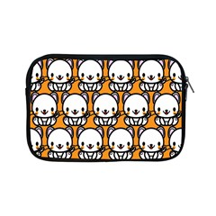 Sitwhite Cat Orange Apple Ipad Mini Zipper Cases