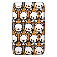 Sitwhite Cat Orange Samsung Galaxy Tab 3 (8 ) T3100 Hardshell Case  by AnjaniArt