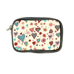 Valentine Heart Pink Love Coin Purse by AnjaniArt