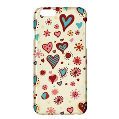 Valentine Heart Pink Love Apple Iphone 6 Plus/6s Plus Hardshell Case by AnjaniArt