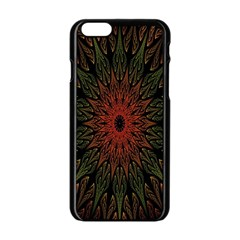 Sun Apple Iphone 6/6s Black Enamel Case by AnjaniArt