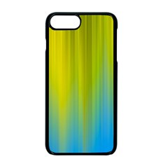 Yellow Blue Green Apple Iphone 7 Plus Seamless Case (black)