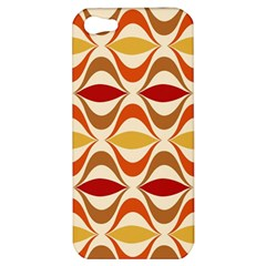 Wave Orange Red Yellow Rainbow Apple Iphone 5 Hardshell Case