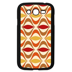 Wave Orange Red Yellow Rainbow Samsung Galaxy Grand Duos I9082 Case (black) by AnjaniArt