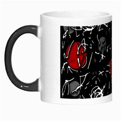 Red Mind Morph Mugs by Valentinaart