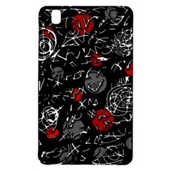Red Mind Samsung Galaxy Tab Pro 8 4 Hardshell Case by Valentinaart