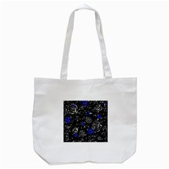 Blue Mind Tote Bag (white) by Valentinaart