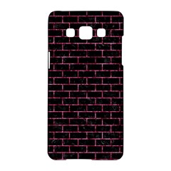 Brick1 Black Marble & Pink Marble Samsung Galaxy A5 Hardshell Case  by trendistuff