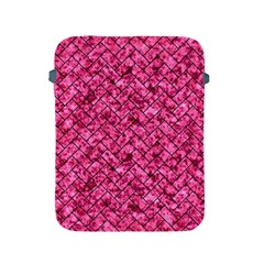 Brick2 Black Marble & Pink Marble (r) Apple Ipad 2/3/4 Protective Soft Case by trendistuff