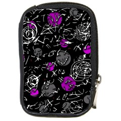 Purple Mind Compact Camera Cases by Valentinaart