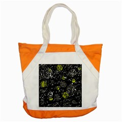 Yellow Mind Accent Tote Bag by Valentinaart