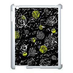 Yellow Mind Apple Ipad 3/4 Case (white) by Valentinaart