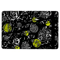 Yellow Mind Ipad Air Flip by Valentinaart