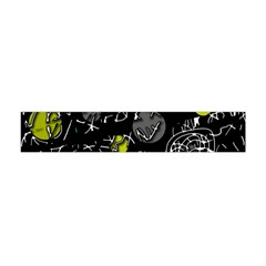 Yellow Mind Flano Scarf (mini) by Valentinaart