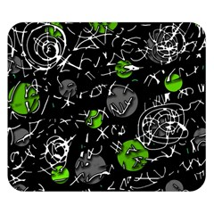 Green Mind Double Sided Flano Blanket (small)