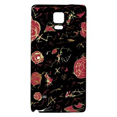 Elegant Mind Galaxy Note 4 Back Case by Valentinaart