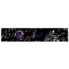 Abstract Mind   Purple Flano Scarf (small) by Valentinaart