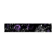 Abstract Mind   Purple Flano Scarf (mini) by Valentinaart