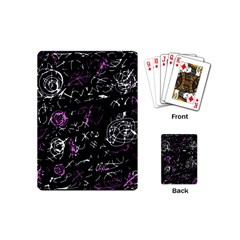 Abstract Mind   Magenta Playing Cards (mini)