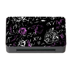Abstract Mind   Magenta Memory Card Reader With Cf by Valentinaart